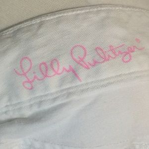 Lilly Pulitzer Pants - Lilly Pulitzer White denim pants size 6